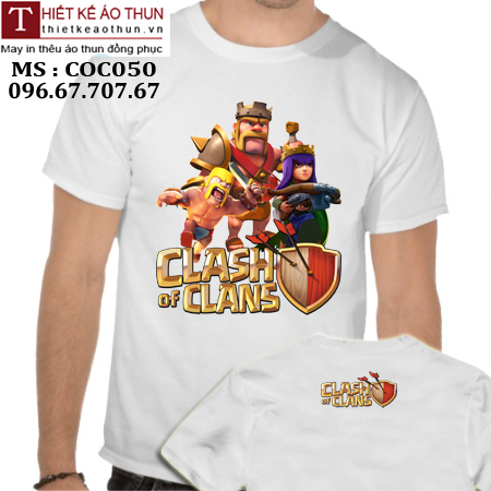 áo thun game clash of clans